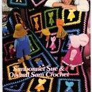 Annie's Attic Sunbonnet Sue & Overall Sam Crochet Pattern 09SS