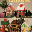 Plastic Canvas Tissue Box Houses 3113 - 5 Patterns -