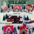 Plastic Canvas Home for Christmas Village Patterns Book Two - American School of Needlework 3067