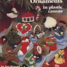 Christmas Tree Ornaments in Plastic Canvas Patterns American School of Needlework 3054