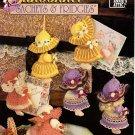 Crochet Sunbonnet Sachets & Fridgies Pattern Book Annie's Attic 878501