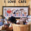 Cross Stitch I Love Cats Booklet JL101 Jeremiah Junction