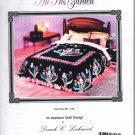 An Iris Garden Lockwood Applique King Quilt Pattern
