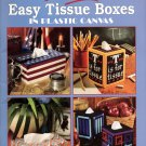 Our Best Easy Tissue Boxes in Plastic Canvas Patterns Leaflet 1732 Leisure Arts