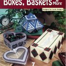 Plastic Canvas Boxes, Baskets & More Patterns - The Needlecraft Shop 842535