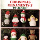 Christmas Ornaments 2 to Crochet - Leisure Arts Leaflet 772