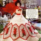 Rebecca's Party Frock Crochet Pattern - The Needlecraft Shop 962516 - Ladies of Fashion