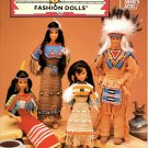 Crochet Native American Fashion Dolls Patterns - Annie's Attic 878303