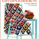 Leisure Arts Great-Grannies! 7 Scrap Afghans to Crochet Patterns #4429