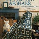 Lacy Granny Afghans - Leisure Arts Crochet Leaflet 480