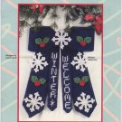 Plastic Canvas Welcome Bows House of White Birch 181069
