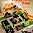 Plastic Canvas Firefighter's Town Book American School of Needlework No. 3098