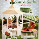 Fashion Doll Summer Garden in Plastic Canvas Book American School of Needlework No. 3121