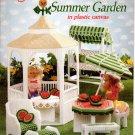 Fashion Doll Summer Garden in Plastic Canvas Book American School of Needlework No. 3121
