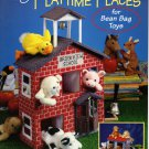 Plastic Canvas Playtime Places for Bean Bag Toys Book American School of Needlework No. 3194