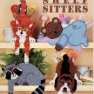 Plastic Canvas Shelf Sitters - American School of Needlecraft 3097