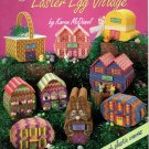 Plastic Canvas Easter Egg Village Pattern American School of Needlework 3120