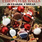 Christmas Balls in Plastic Canvas - Leisure Arts Leaflet 1724