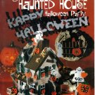Plastic Canvas Haunted House Halloween Party Pattern American School of Needlework 3064