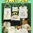 Debra Designs Swee' Pea Cross Stitch Book DDB-4