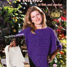 Ponchos to Knit and Crochet - American School of Needlework 1306