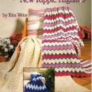 New Ripple Afghans by Rita Weiss - American School of Needlework 1058
