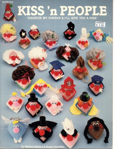 Kiss'n People Plastic Canvas Pattern - Hot off the Press HOTP-314