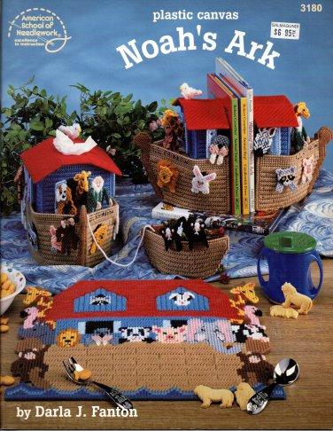 Plastic Canvas Noah's Ark - American School of Needlework 3180