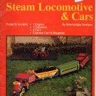 Plastic Canvas Steam Locomotive & Cars - Plaid Enterprises Inc #7674