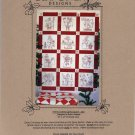 Here Comes Santa Quilt Pattern - Bird Brain Designs - 250 - Uncut