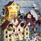 Birdhouse Tissue Box Covers in 7-Mesh Canvas Patterns ASN 3179