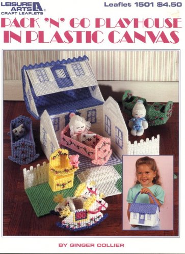 Pack N Go Playhouse in Plastic Canvas Pattern Leisure Arts 1501