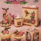 Annie's Attic Hummingbird Bath Set Pattern - 87B37