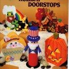 Plastic Canvas Holiday Doorstops Patterns American School of Needlework 3065
