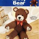 Annie's Attic Knit Teddy Bear Pattern Book - 892691