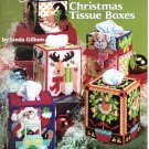 New Plastic Canvas Christmas Tissue Boxes Patterns American School of Needlework 3080