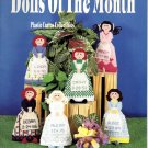 Dolls of the Month Kount on Kappie Plastic Canvas Book 149