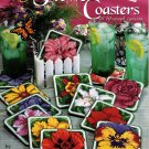 Plastic Canvas Flower Coasters Patterns American School of Needlework 3192