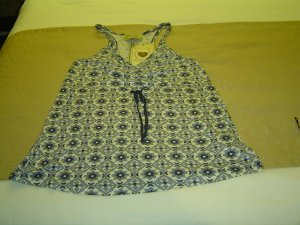 Large Blue Vintage Top