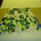 sz L cotton skirt Blue/Green