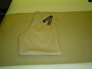 sz small petite beige stretch pants