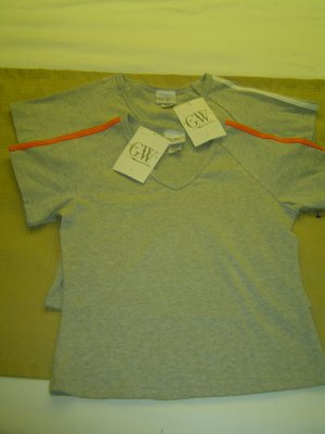 NWT sz s GW Sport Grey T shirts Lot of 2