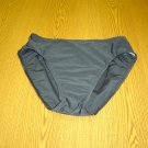 sz 12 Beach Bay Black swimwear bottoms