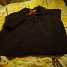 Nwt Destiyn Gold  sz M Black Top