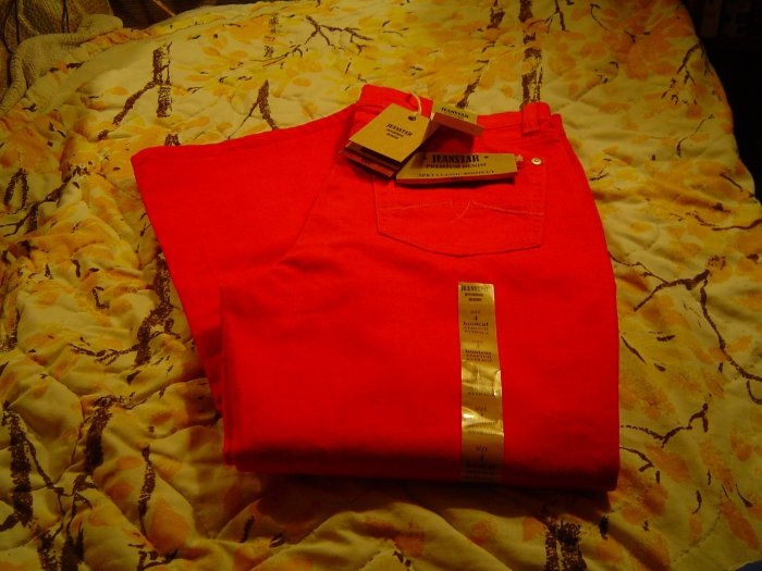 Nwt sz 4 Red Jeanstar Jeans