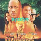 Lot 2 Rundown The Rock Dwayne Johnson Movie Postcard