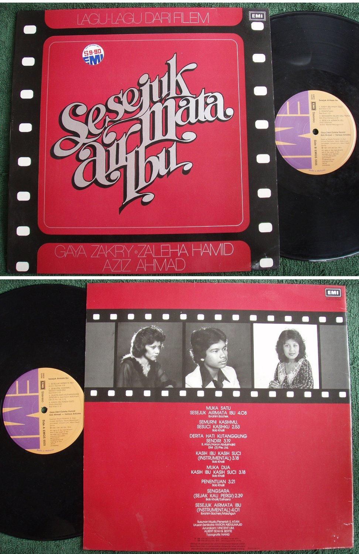 Air Mata Ibu Malay Film OST Funk Pop Soul LP #5555 (241)