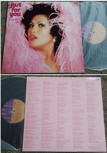 Malay Sharifah Aini Just For You English pop LP #5547 (205)