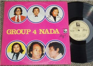 Indonesia Group 4 Nada vol.4 Malay pop LP #LMLP085 (40)