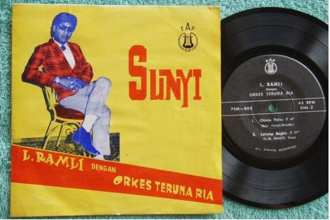 Msia L.Lamli-Orkes Teruna Ria Malay garage psych EP #005(679)